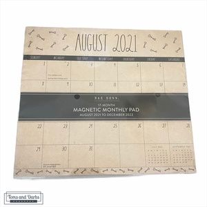 Rae Dunn 17 Month Magnetic Monthly Pad